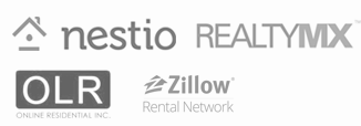 Integration with Nestio, RealtyMX, OLR, Zillow Rental Pro and more