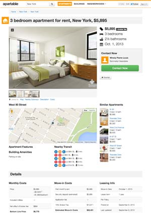 Search for Apartments
